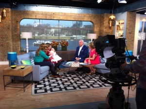 Talking about breastfeeding on This Morning
